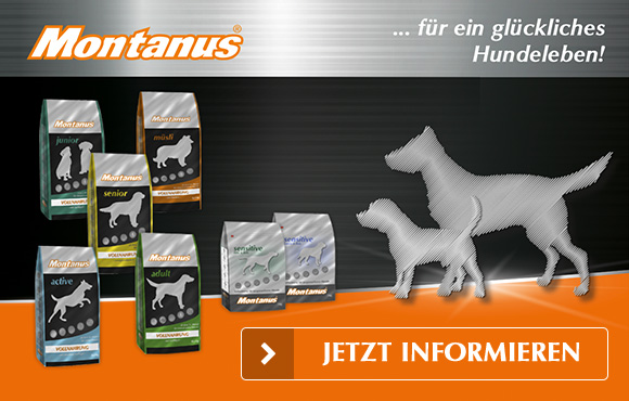 Montanus DOGS - der wertvolle Betrag für ein glückliches Hundeleben